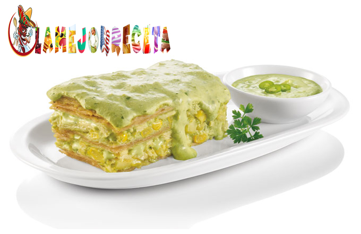 Pastel Azteca De Pollo Receta De Pastel Azteca De Pollo