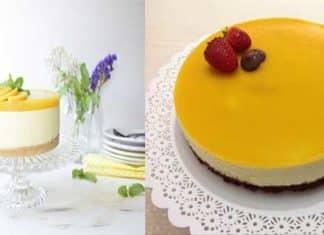 cheesecake de mango receta paso a paso