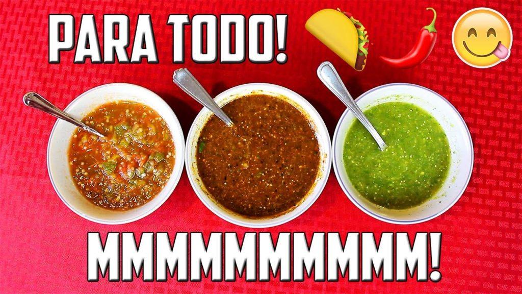 Tipos de salsa