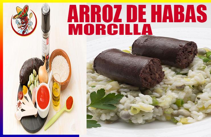 Receta De Arroz Con Habas Y Morcilla Deliciosas Cena