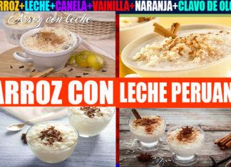 Arroz con leche peruano