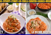 Receta de espagueti rojo cremoso