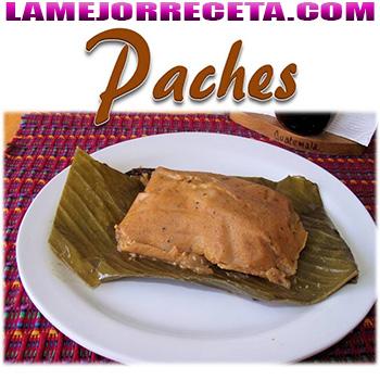 Receta de paches Guatemalteco