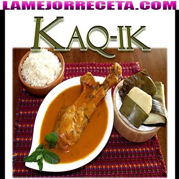 receta de kaq ik guatemala