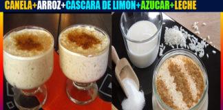 Arroz con leche hondureño