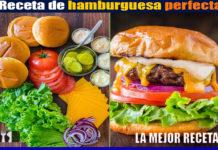 Receta de hamburguesa perfecta