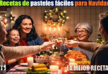 Recetas de pasteles fáciles para Navidad