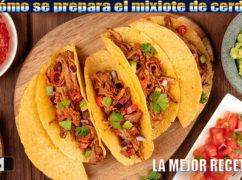 Tacos de mixiote de cerdo