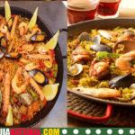 Hacer paella mixta Española