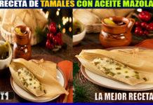 RECETA DE TAMALES CON ACEITE MAZOLA