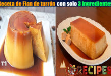 Receta de Flan de turrón con solo 3 ingredientes