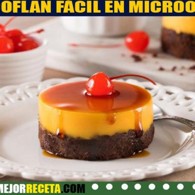 Receta de Chocoflan pastel imposible