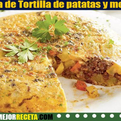 Receta de Tortilla de patatas y morcilla