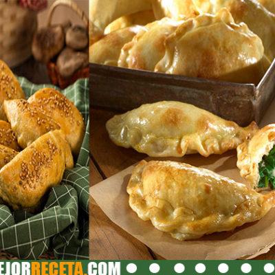 Empanadas de espinacas con queso