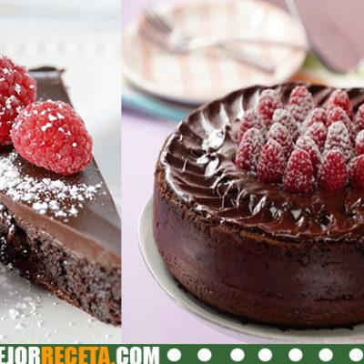 Receta de Pastel de chocolate sin harina