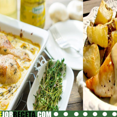Receta de Pollo en salsa de mostaza