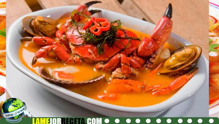 sopa de cangrejo hondureña